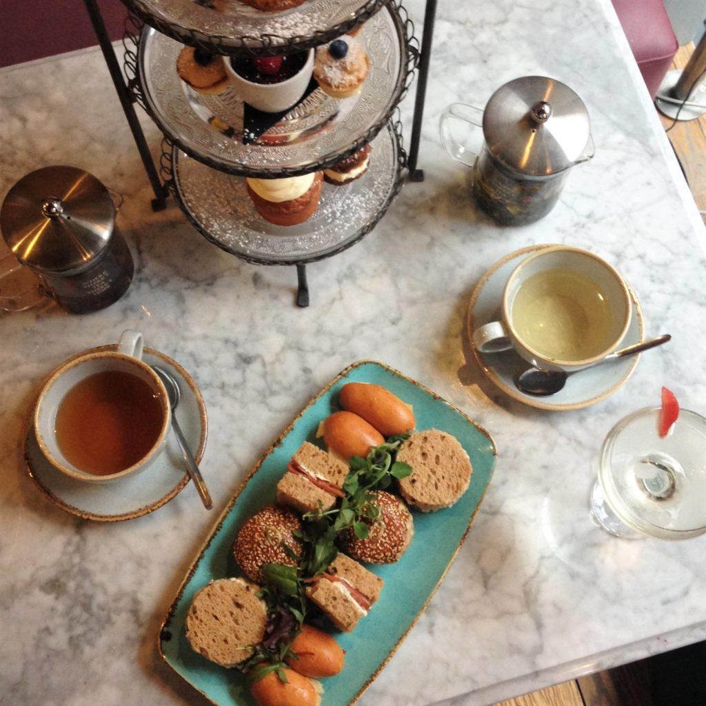 Afternoon Tea Manchester - LEAF on Portland Street