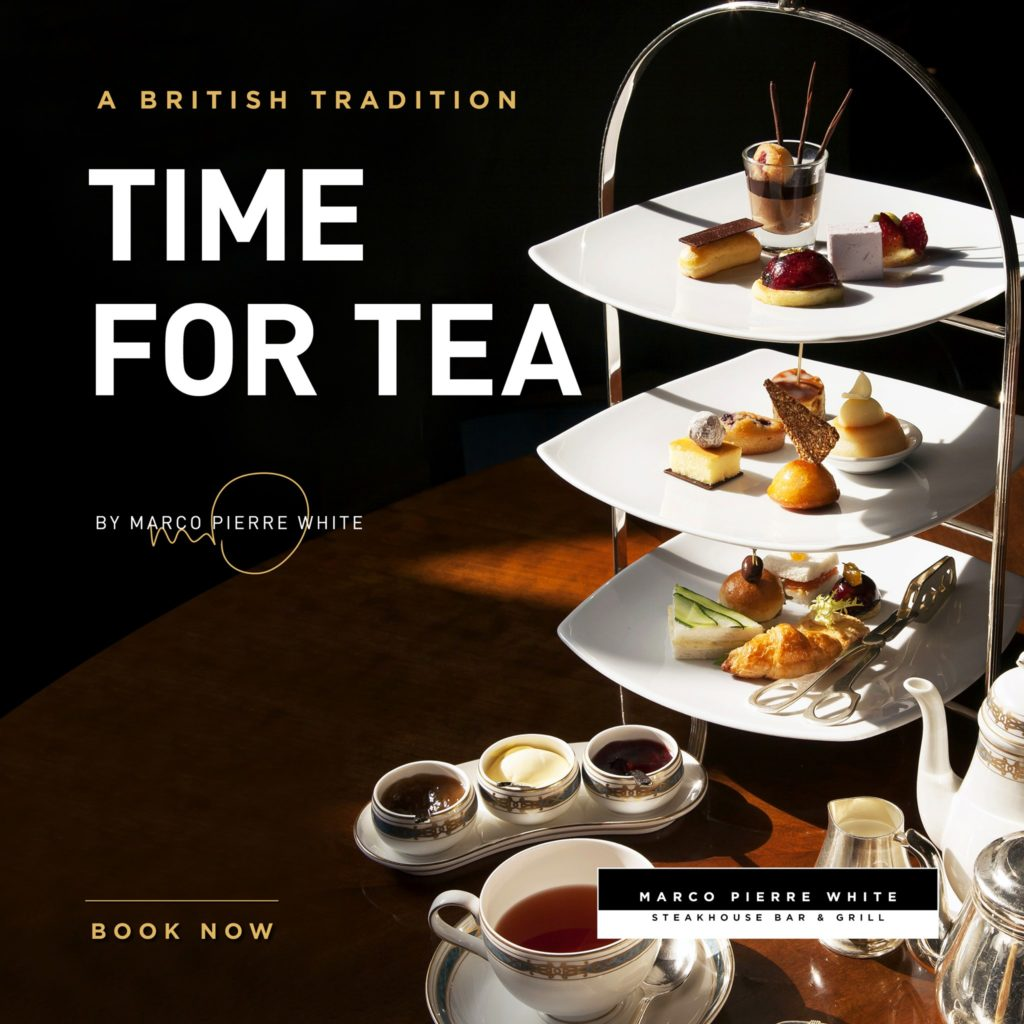 Afternoon Tea Liverpool - Marco Pierre White