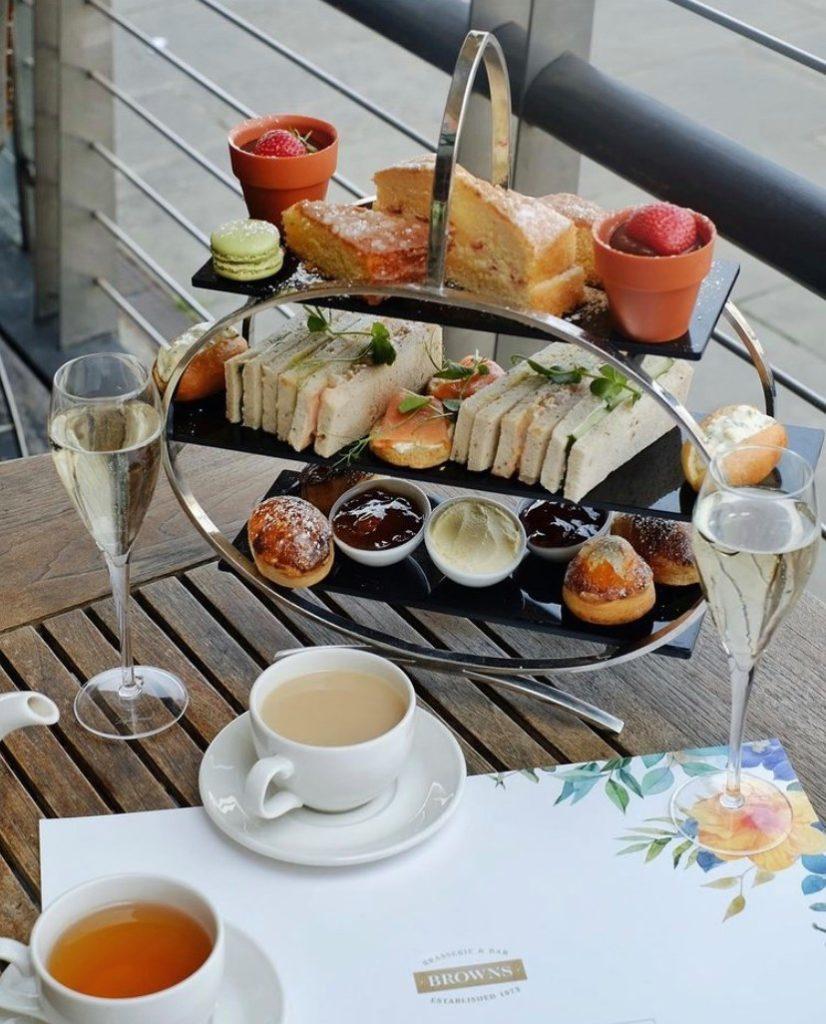 Afternoon Tea Leeds - Browns Brasserie