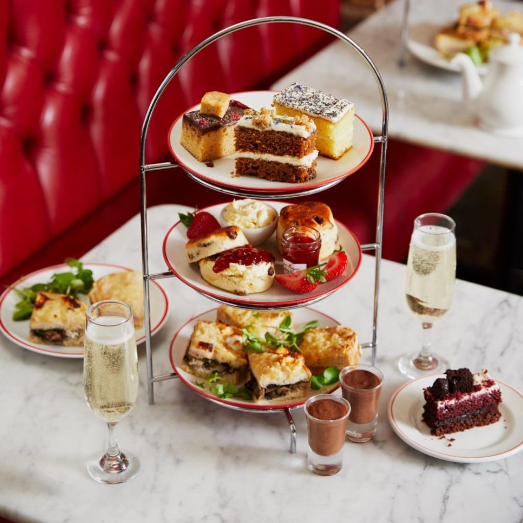 Afternoon Tea Cardiff - Cafe Rouge