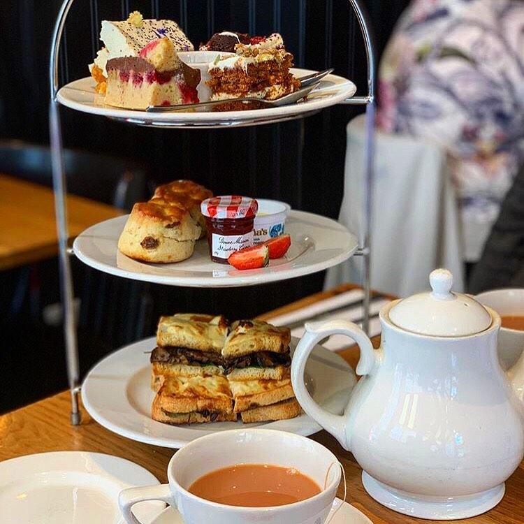 Afternoon Tea Bristol - Cafe Rouge