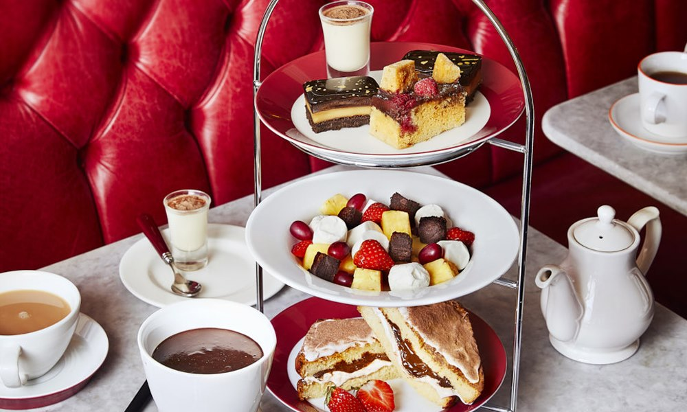 Cafe Rouge Afternoon Tea - Chocolate