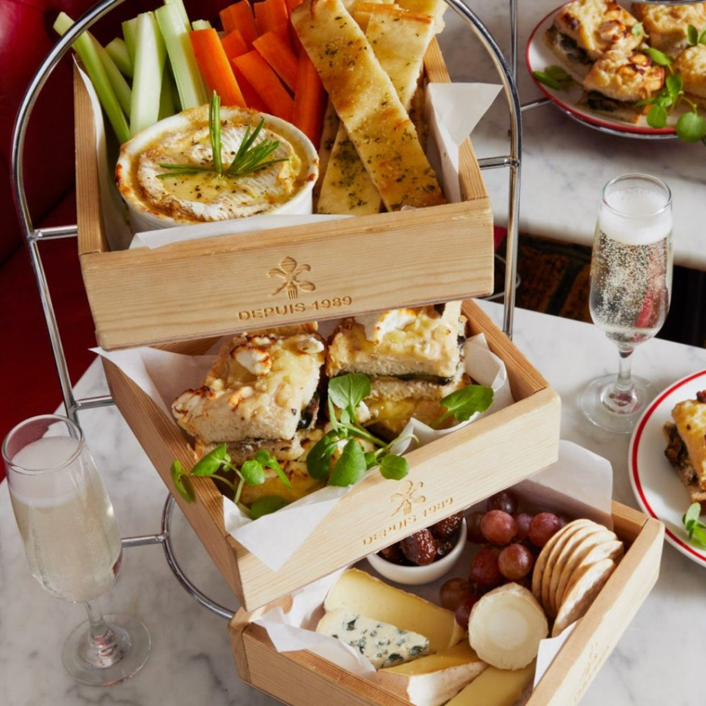 Cafe Rouge Afternoon Tea - Savoury