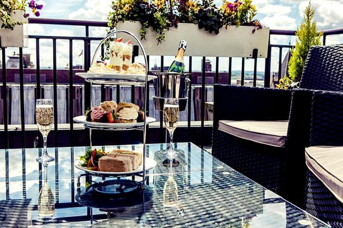 Manchester Afternoon Tea - Carlton George Hotel