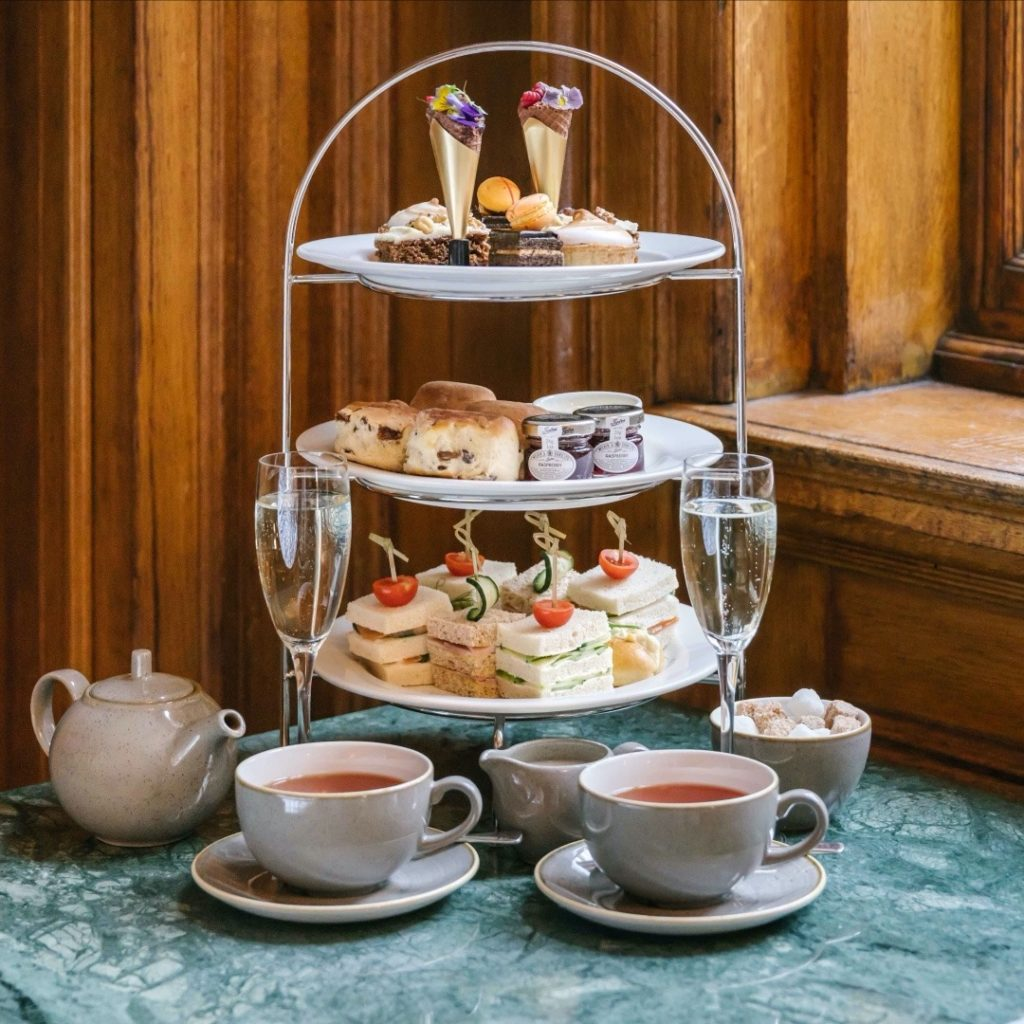 Glasgow Afternoon Tea - Champagne Central