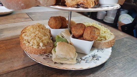 Afternoon Tea Liverpool- Fodder Canteen