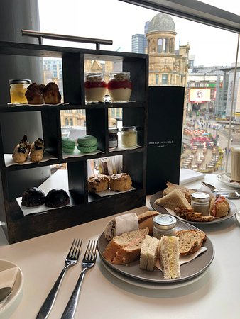 Afternoon Tea Manchester - Harvey Nichols