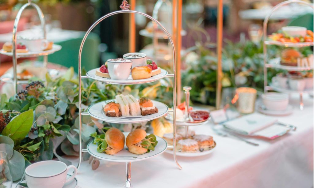 Afternoon Tea Manchester - The Ivy Spinningfields