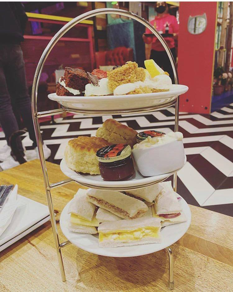 Afternoon Tea Nottingham - Kitty cafe
