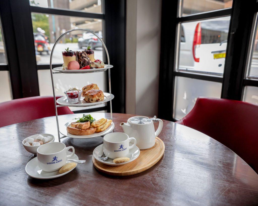 Manchester Afternoon Tea - La Bonne Auberge