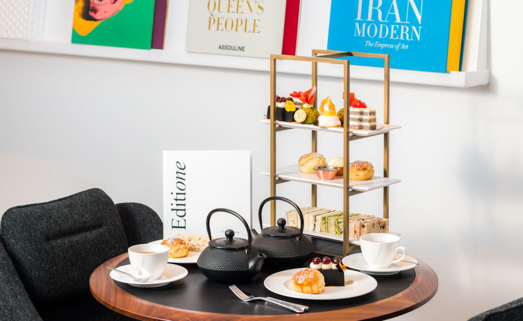 Afternoon Tea Manchester - The Library Curated by Assouline
