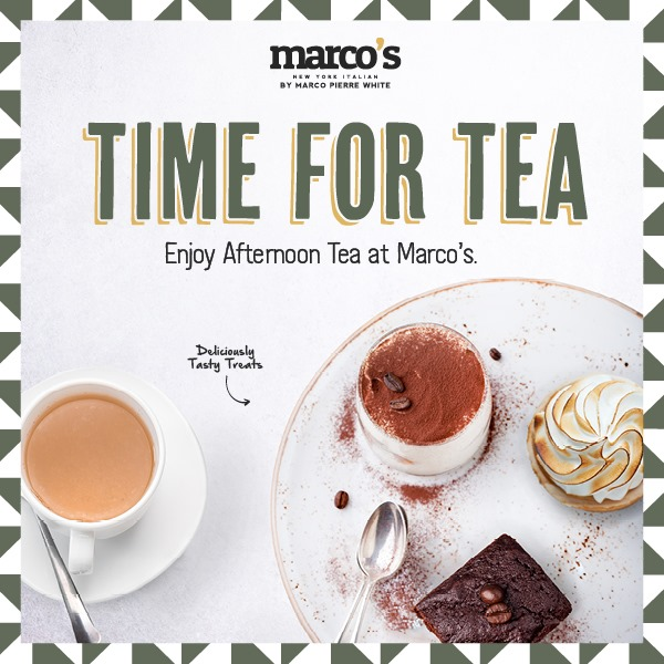 Afternoon Tea Manchester - Marco's New York Italian