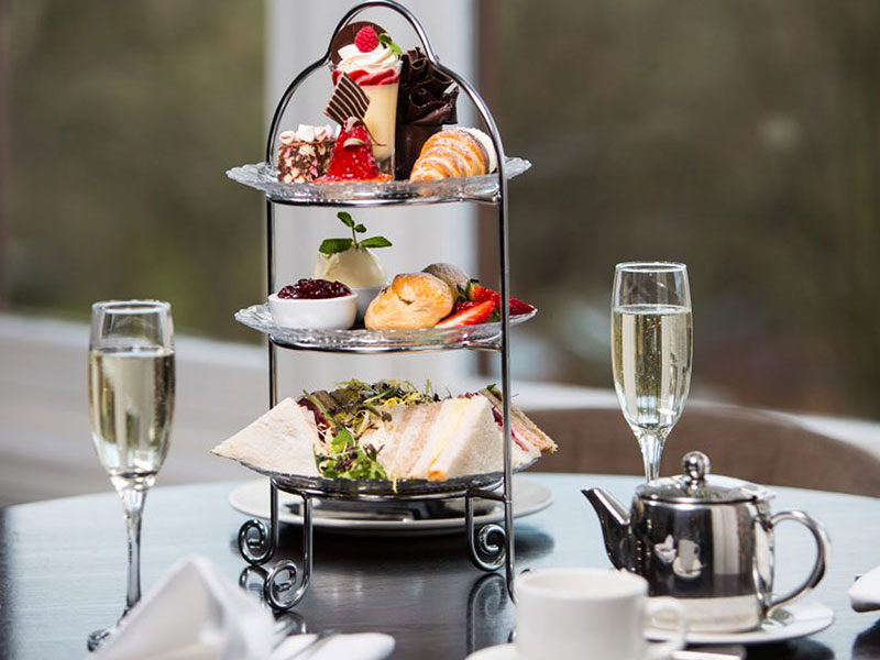 Manchester Afternoon Tea - Sherbrooke Castle Hotel