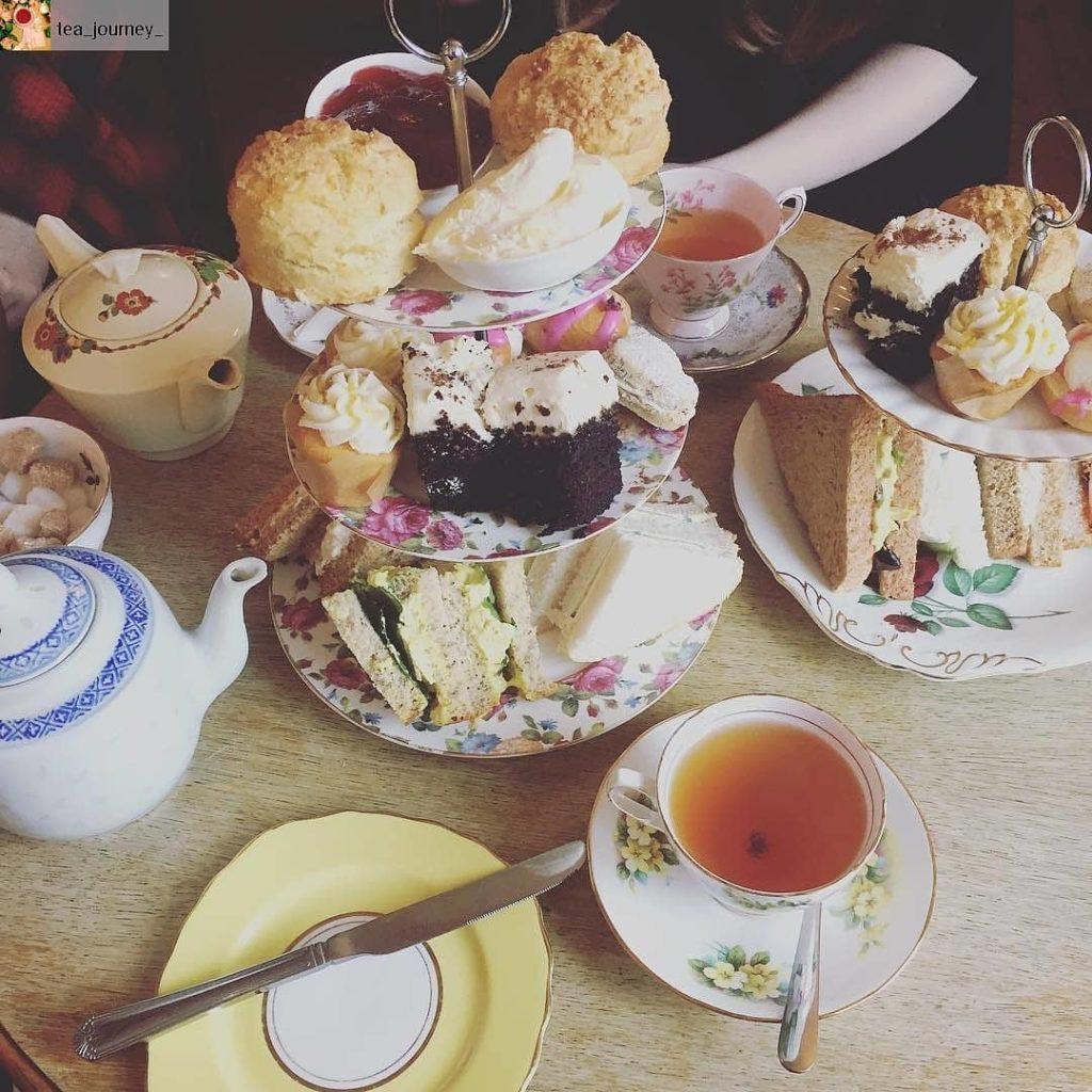 Manchester Afternoon Tea  - Hidden Lane Tearooms