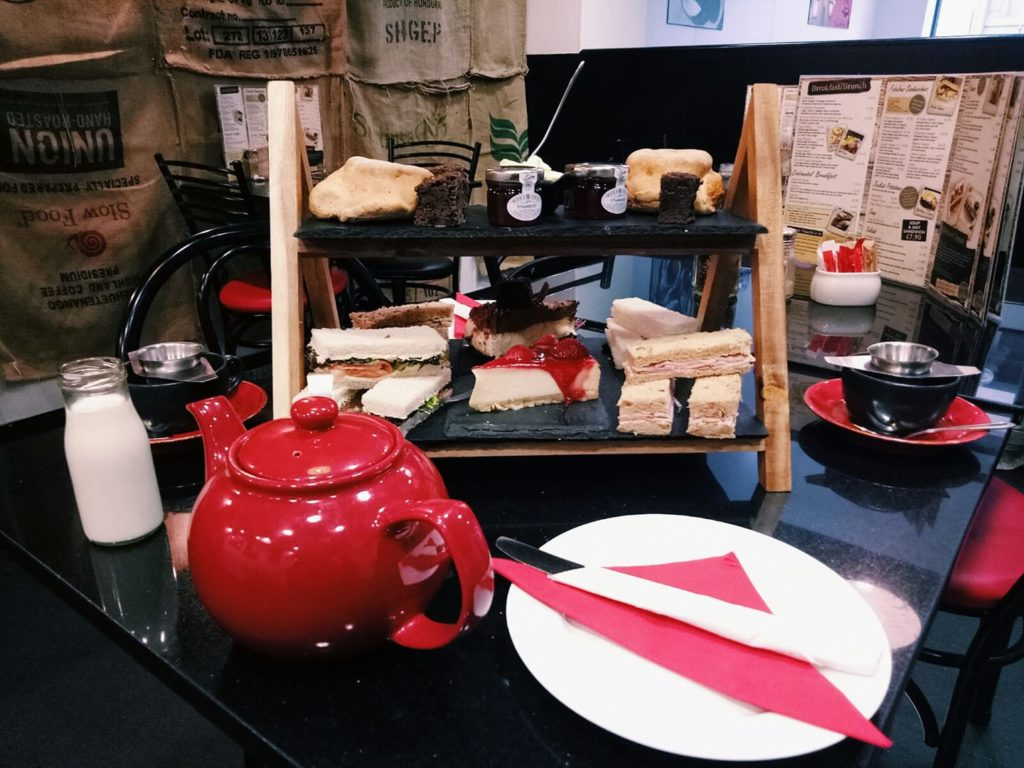 Afternoon Tea Manchester - The Vienna Coffee House