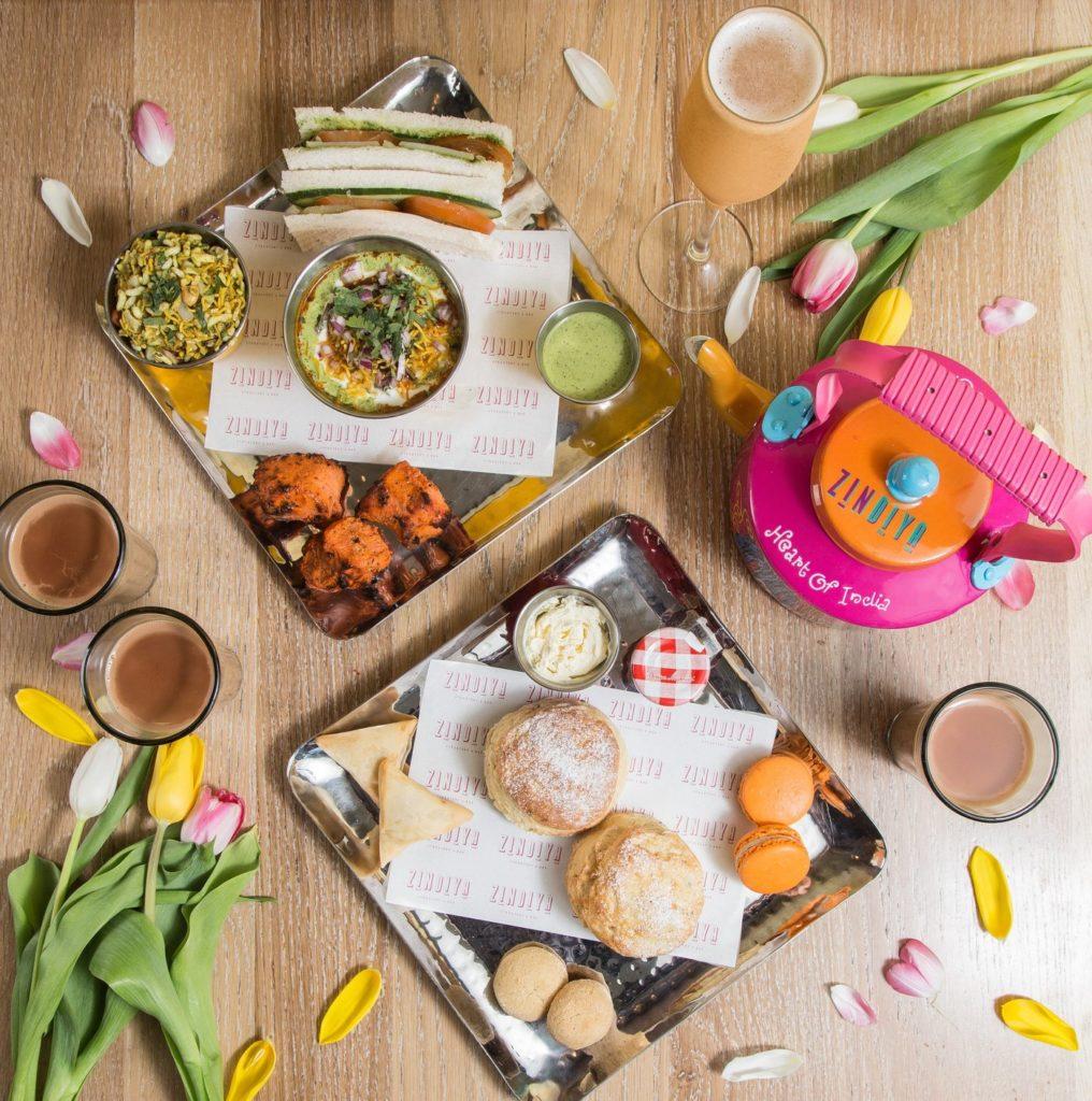 Afternoon Tea Birmingham - Zindiya Indian Afternoon Tea