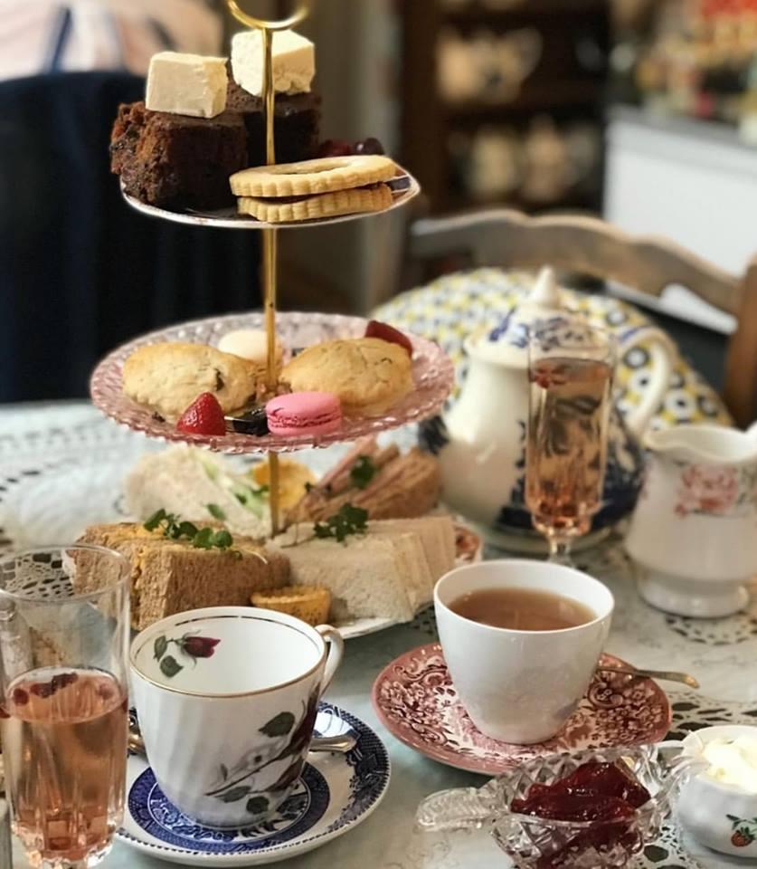 Afternoon Tea Leeds - Just Grand! Vintage Tea Rooms