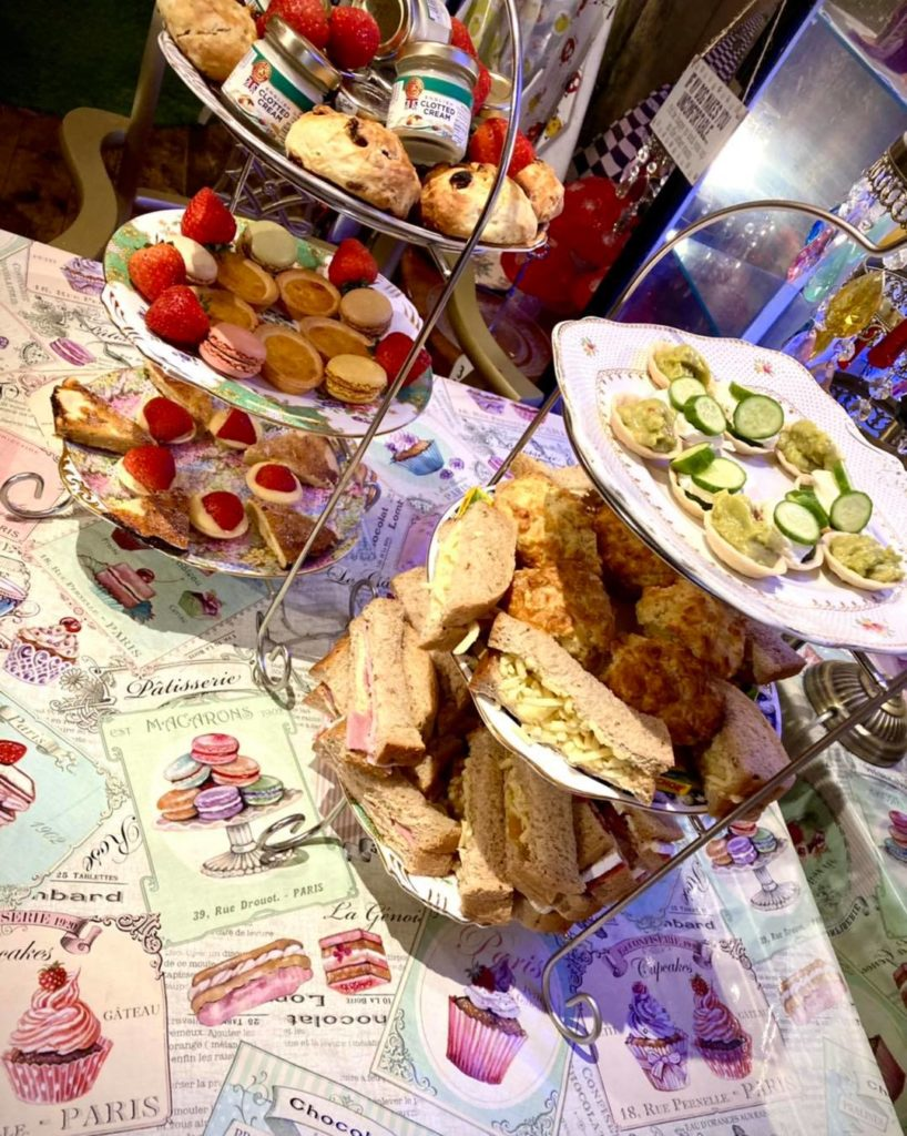 Afternoon Tea Nottingham Madhatters Tea Room