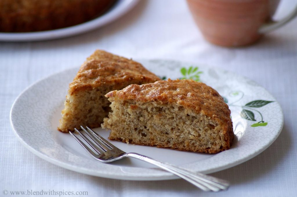 Afternoon Tea Ideas - Eggless Banana Cake