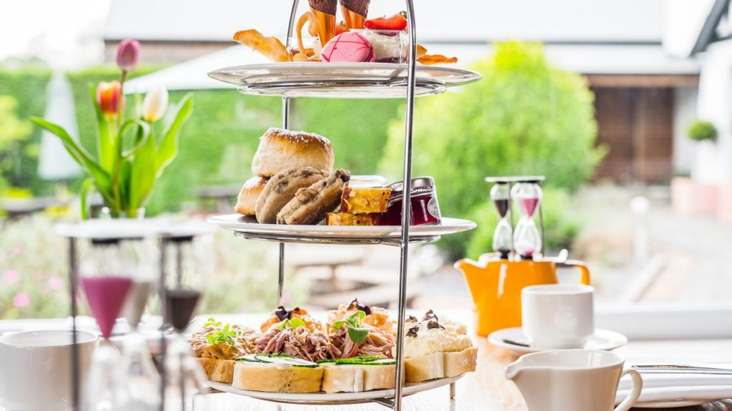 Afternoon Tea Cardiff - Llanerch Vineyard