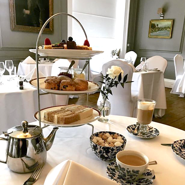 Afternoon Tea Oxford - The Manor at Weston on The Green
