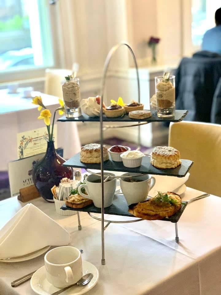 Afternoon Tea Cardiff - Angel Hotel