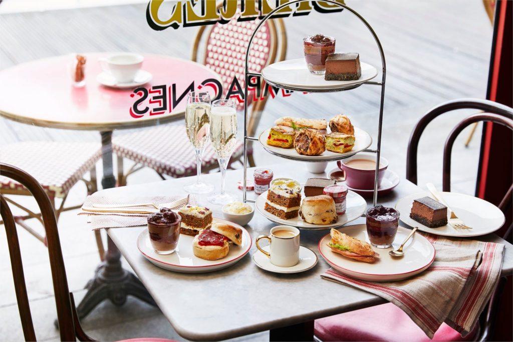 Afternoon Tea Brighton - Cafe Rouge Brighton