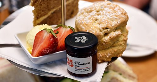Afternoon Tea Cambridge - Houghton Tea Room
