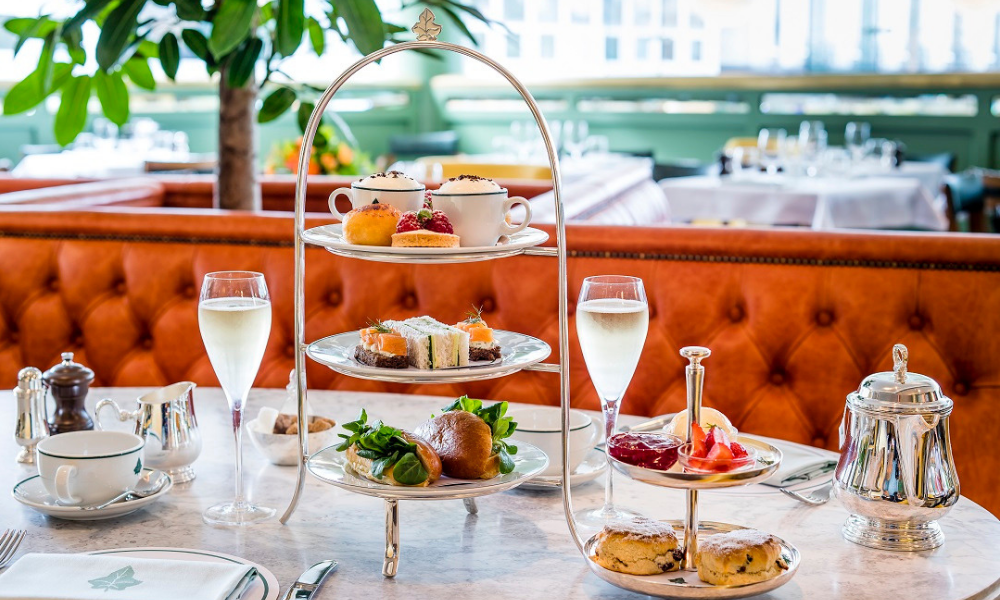 Afternoon Tea Norwich - The Ivy Brasserie