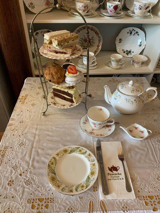 Afternoon Tea Cambridge - Peacocks Tea Room