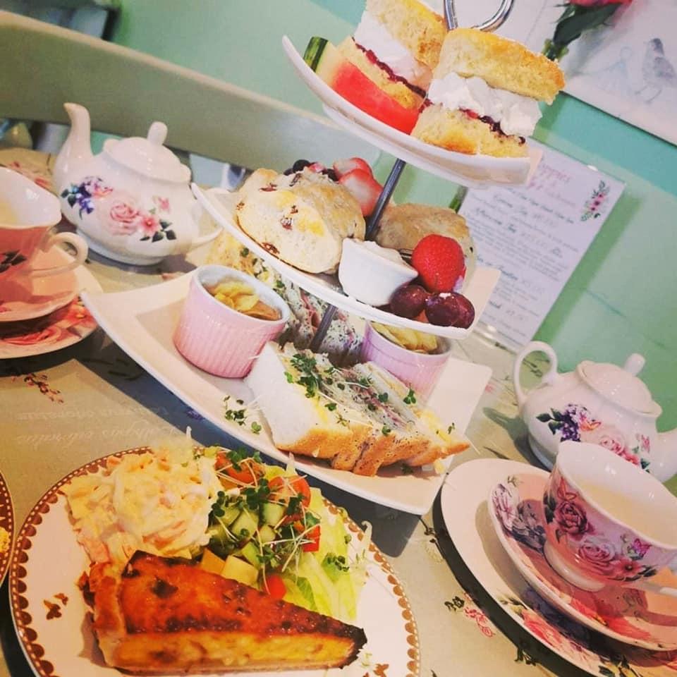 Afternoon tea Sheffield - Poppies Tea Room