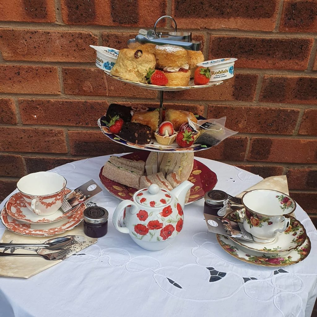 Afternoon Tea Leicester - Tea with Millie and Ellie