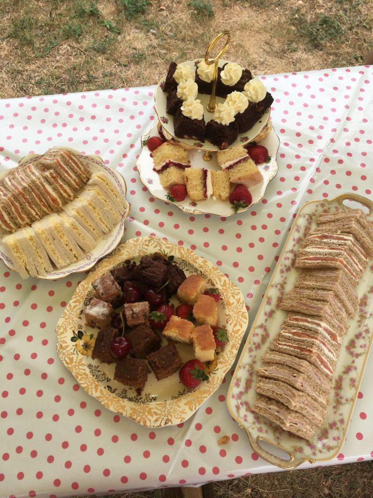 Afternoon Tea Cambridge - Tilly The Travelling Tea Room
