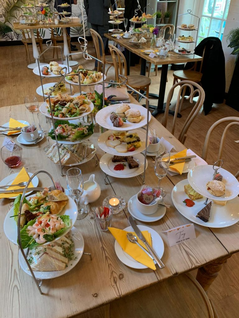 Afternoon Tea Leicester - Wistow Bar cafe