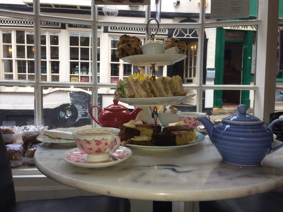 Afternoon Tea Lincoln - Bells Tea Shop
