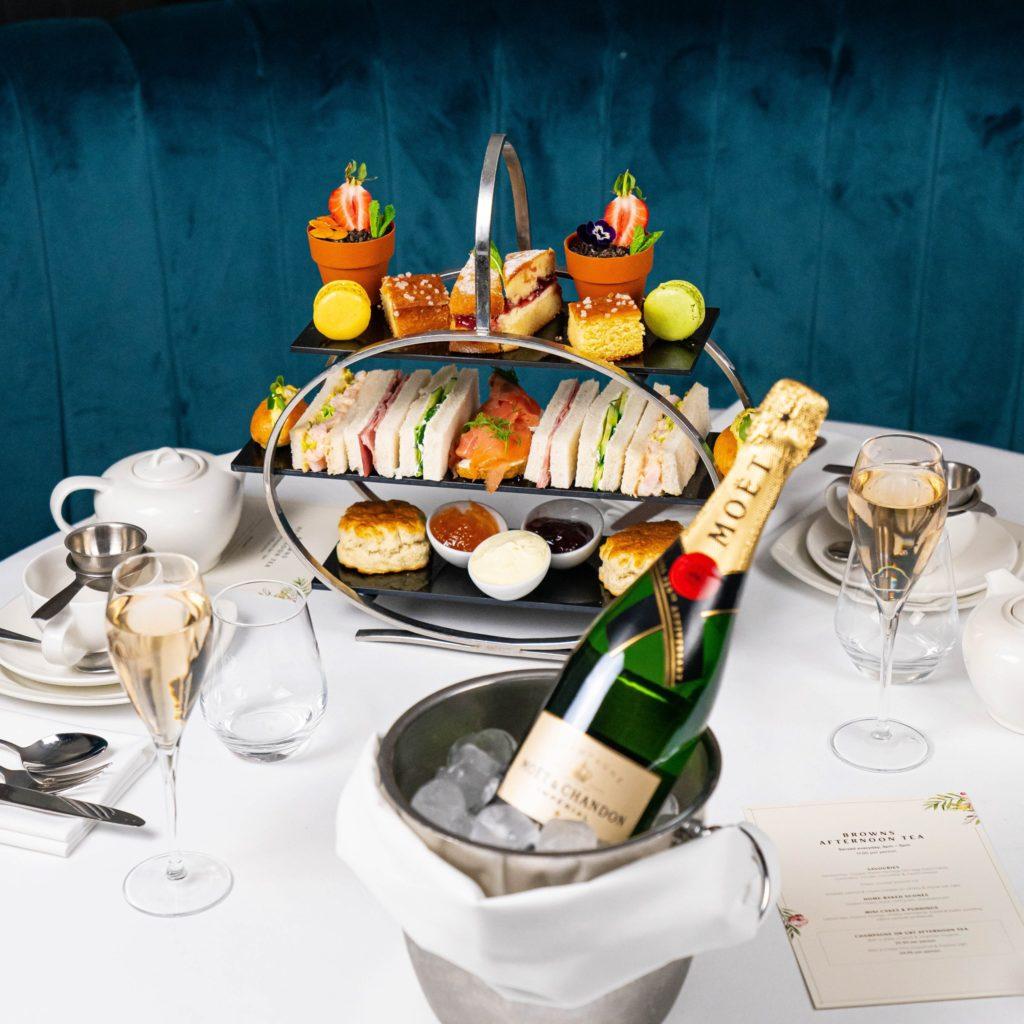 Afternoon Tea Reading - Browns Brasserie & Bar