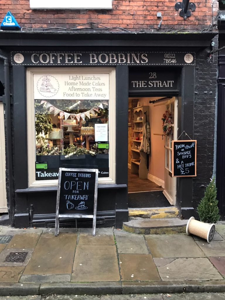 Afternoon Tea Lincoln - Coffee Bobbins