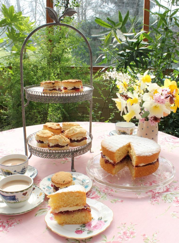Afternoon Tea Worcester - The Garden Tea Rooms