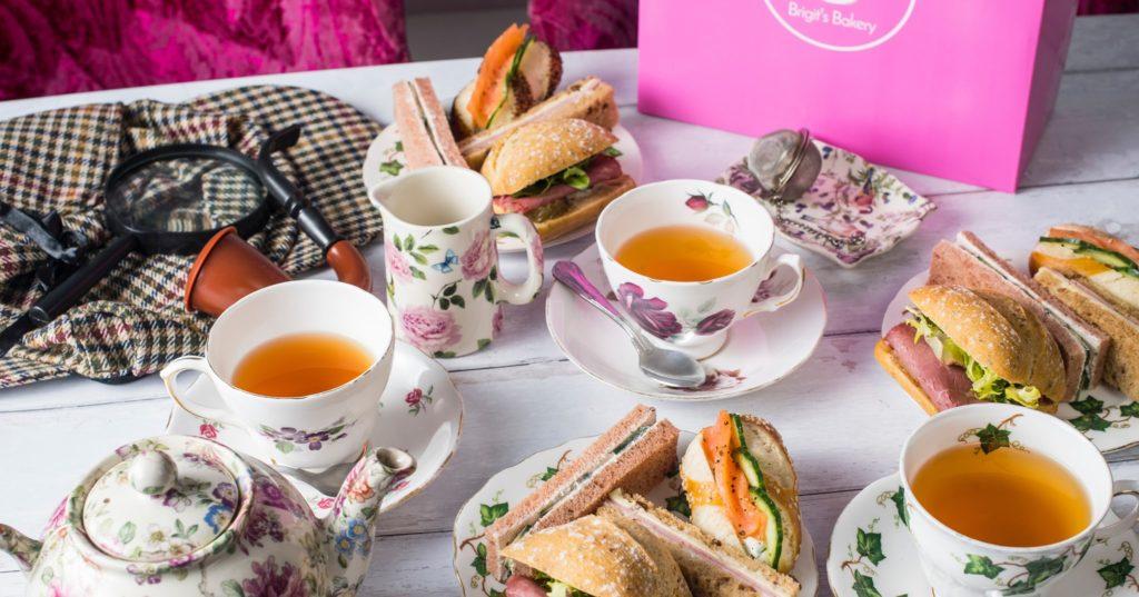 Afternoon Tea Wimbledon - B-Bakery Bus