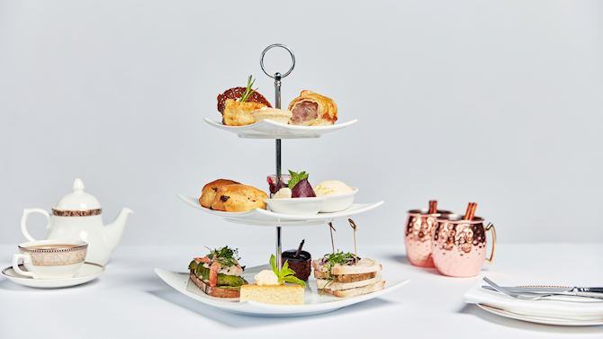 Afternoon Tea Derby - Breadsall Priory Marriott Hotel & Country Club