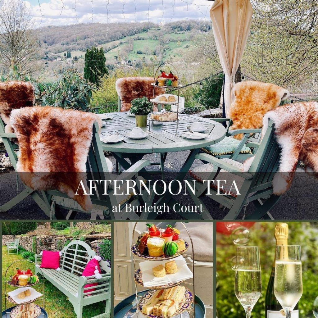 Afternoon Tea Cotswolds - Burleigh Court