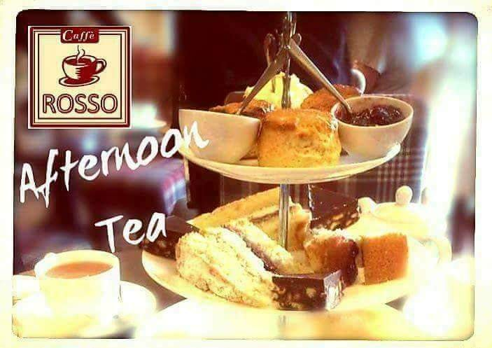 Afternoon Tea Wigan - Caffe Rosso
