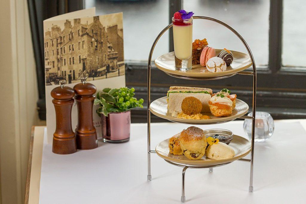 Afternoon Tea Edinburgh - Cannonball House