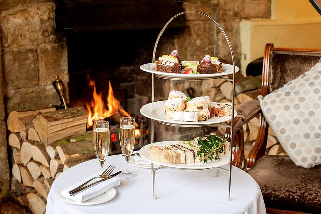 Afternoon Tea Cotswolds - Charingworth manor