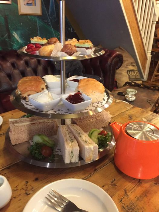 Afternoon Tea Bedford - Coffee with Art
