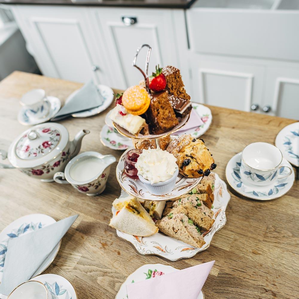 Afternoon Tea Aberdeen - Corner Tree Cafe