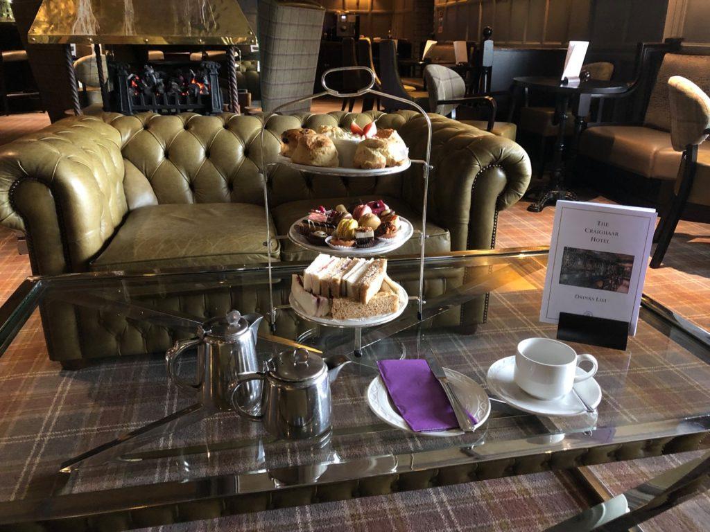 Afternoon Tea Aberdeen - Craighaar Hotel