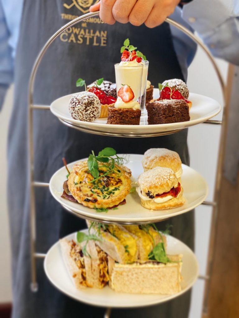 Afternoon Tea Ayrshire - The Glasshouse Restaurant Rowallan Castle