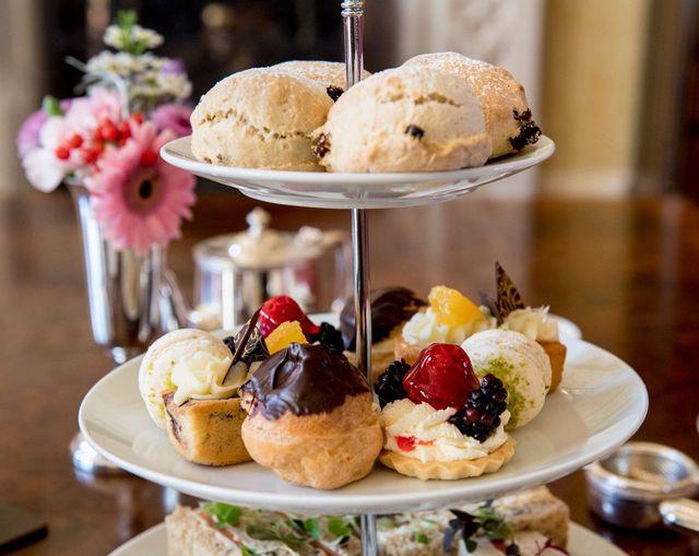 Afternoon Tea Ayrshire - Glenapp Castle