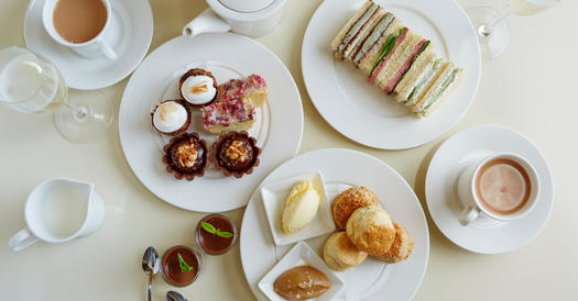 Afternoon Tea Edinburgh - Harvey Nichols